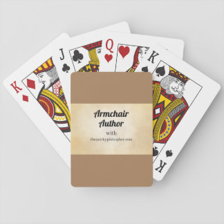 Armchair Author Playing Cards