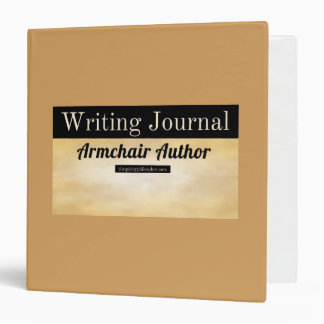 Armchair Author Writing Journal Binder