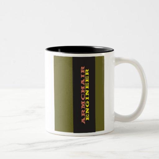 """""""Armchair Engineer"""" Coffee Mugs"""