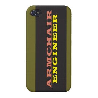 """Armchair Engineer"" iPhone 4/4S Case"