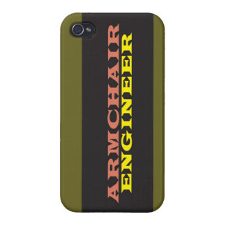 """""""Armchair Engineer"""" iPhone 4/4S Cover"""