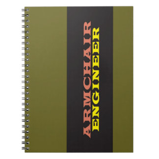 """Armchair Engineer"" Note Books"