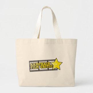 Armchair film critic canvas bag