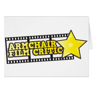 Armchair film critic cards
