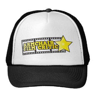 Armchair film critic trucker hat