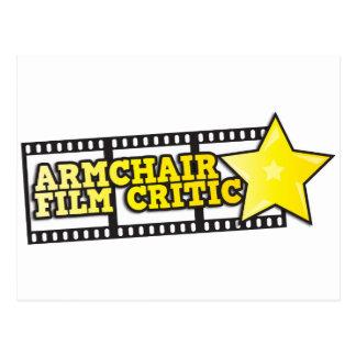 Armchair film critic post card