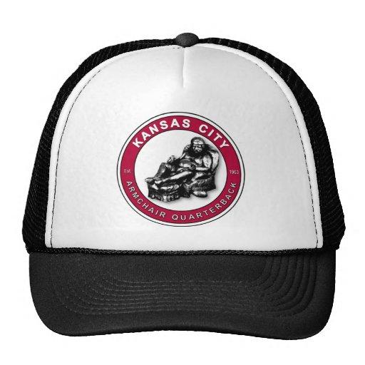 Armchair Qb Kansas City Football Trucker Hat Zazzle
