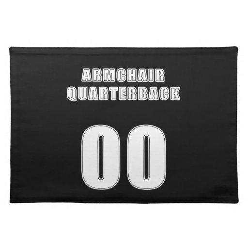 Armchair Quarterback 00 Cloth Place Mat