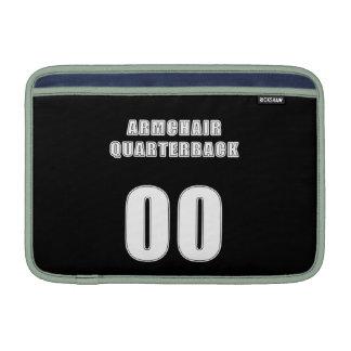 Armchair Quarterback 00 MacBook Air Sleeves