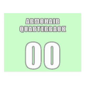 Armchair Quarterback 00 Postcard