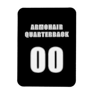 Armchair Quarterback 00 Rectangular Photo Magnet
