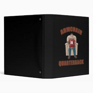 Armchair Quarterback 3 Ring Binder