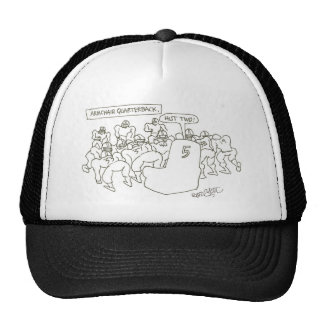"Armchair quarterback: ""Hut two!"" Trucker Hat"