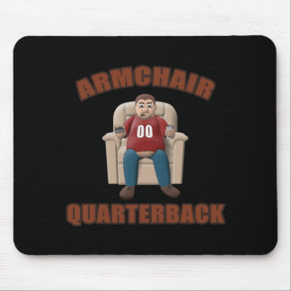Armchair Quarterback Mouse Pad