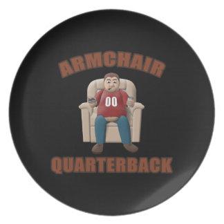 Armchair Quarterback Plate