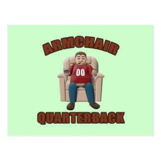 Armchair Quarterback Postcard