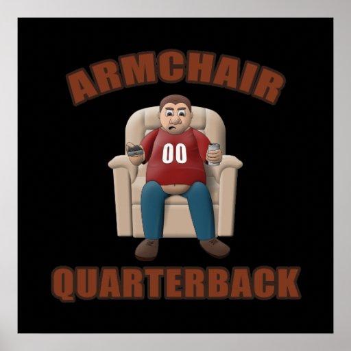 Armchair Quarterback Poster