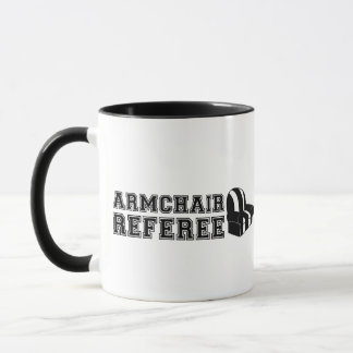 Armchair Referee Football Mug