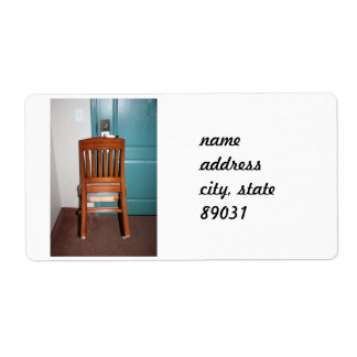 Armchair Security Shipping Label