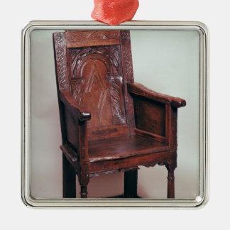 Armchair with arcaded back and boxed sides christmas tree ornaments