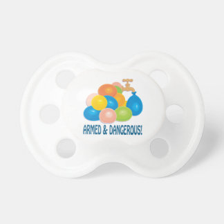 Armed And Dangerous Baby Pacifiers