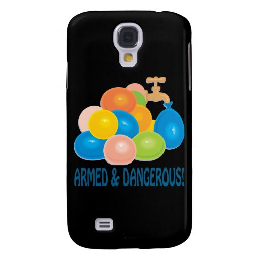 Armed And Dangerous Galaxy S4 Cases