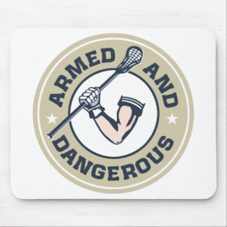 Armed and Dangerous Mouse Pad
