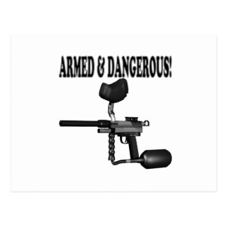 Armed And Dangerous Postcard