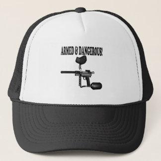 Armed And Dangerous Trucker Hat