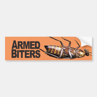 Armed Biters - Bumper Stickers