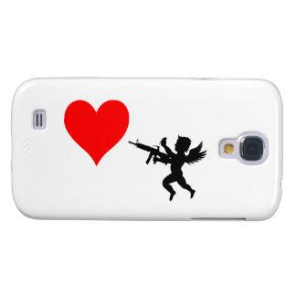 Armed Cupid Destroys Love Samsung S4 Case