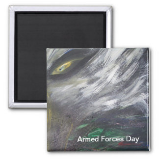 Armed Forces Day Fridge Magnet