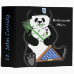 Armed Forces Day Panda Photo Binder