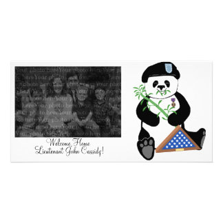 Armed Forces Day Panda Photo Template Card Picture Card
