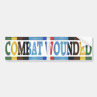 Armed Forces Exped. Medal Combat Wounded Sticker