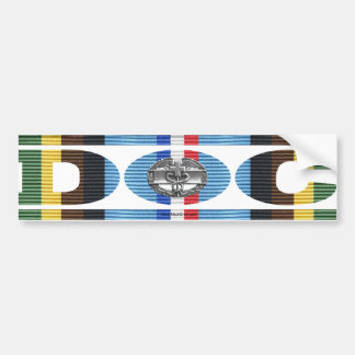 Armed Forces Expeditionary Medal DOC Ribbon Bumper Sticker