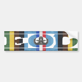 Armed Forces Expeditionary Medal EOD Sticker