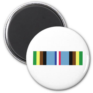 Armed Forces Expeditionary Ribbon 2 Inch Round Magnet