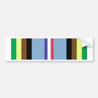 Armed Forces Expeditionary Ribbon Bumper Sticker