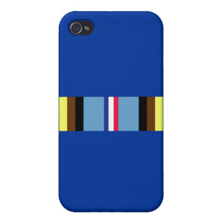 Armed Forces Expeditionary Ribbon Cover For iPhone 4