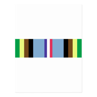 Armed Forces Expeditionary Ribbon Postcard