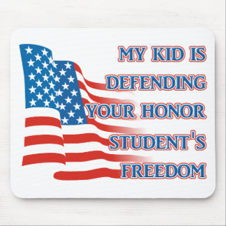 Armed Forces Freedom - Honor Student Mousepad