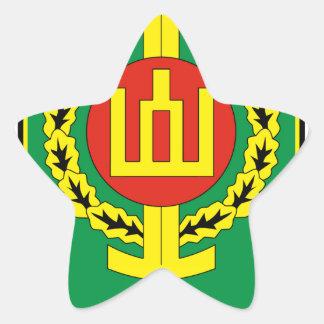 Armed Forces Information School Star Sticker