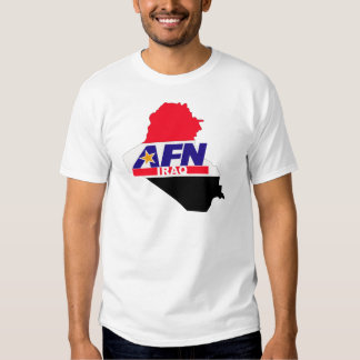Armed Forces Network Iraq Shirt
