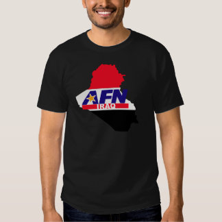Armed Forces Network Iraq T Shirt