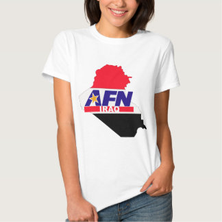 Armed Forces Network Iraq T-shirt