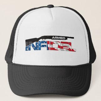 ARMED INFIDEL TRUCKER HAT
