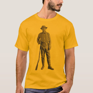 Armed Japanese Man with Rifle, Pistol, and Knife T-Shirt