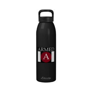 ARMED Large beverage container Reusable Water Bottles