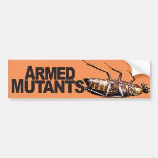 Armed Mutants - Bumper Sticker